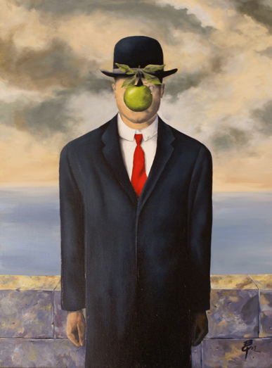 Rene Magritte The Son Of Man The gallery for -->...